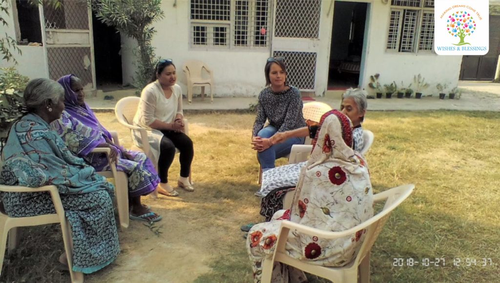 wishes and blessings old age home
