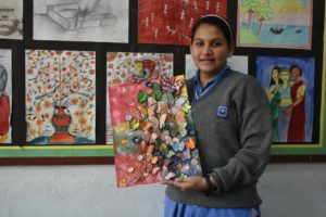 Painting competition at Balwantray